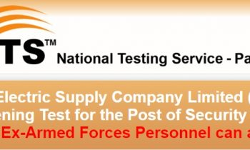 LESCO Security Staff Jobs Application Forms 2021