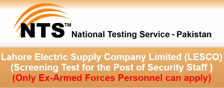(LESCO) (Screening Test for Security Staff)