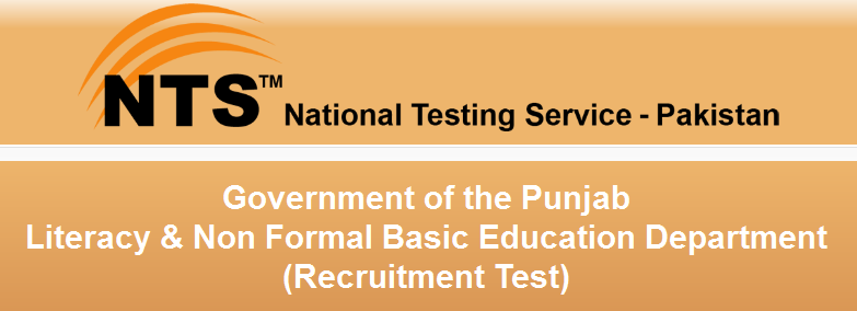 Punjab Literacy & Non Formal Basic Education NTS Jobs 2016 Recruitment Test