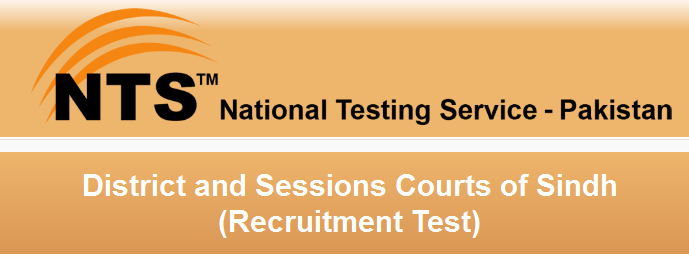 District & Sessions Courts Sindh Recruitment NTS Test 2016