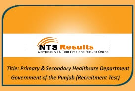 Primary And Secondary Healthcare Department Jobs Application Forms 2021