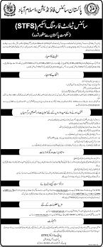 Pakistan Science Foundation STFS NTS Application Form Registration Online 2021