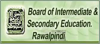 Rawalpindi Board 10th Class Results 2018